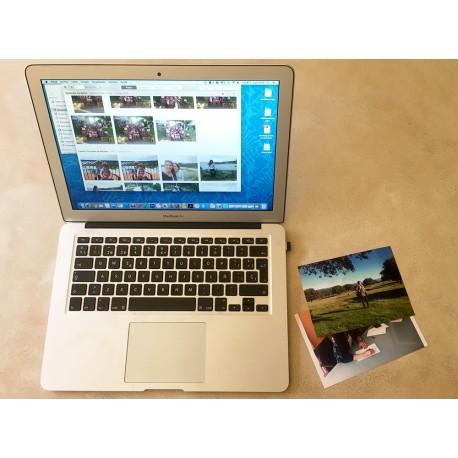 sesión organización fotos
